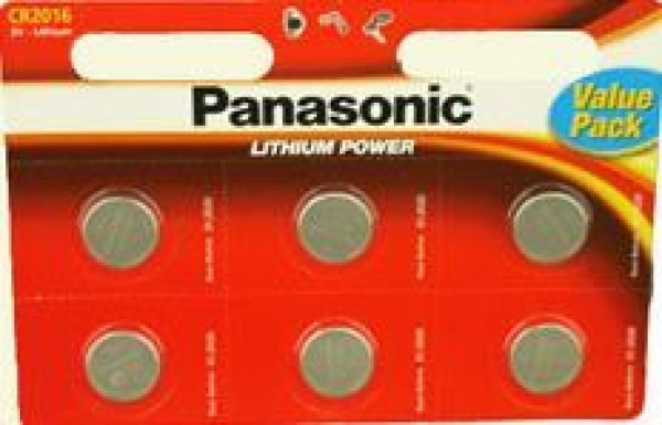 Panasonic baterije Litijum CR-2016 L6bp