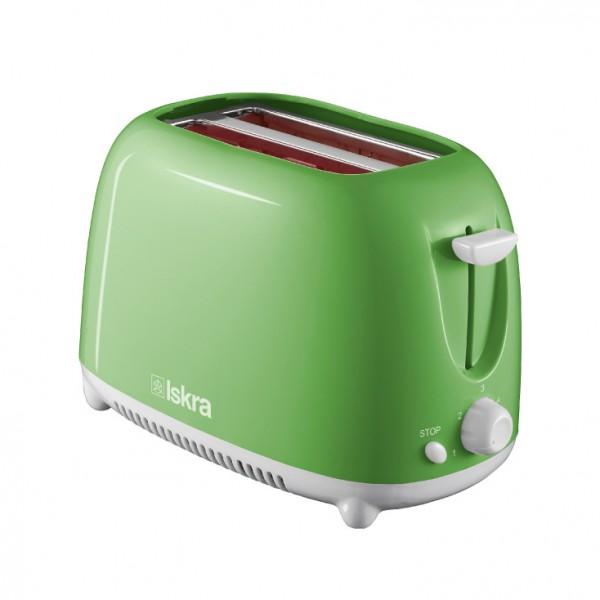 ISKRA toster 750W zeleni THT-8866-GR