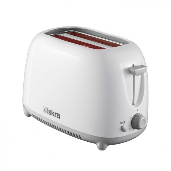 ISKRA toster 750W beli THT-8866-WH