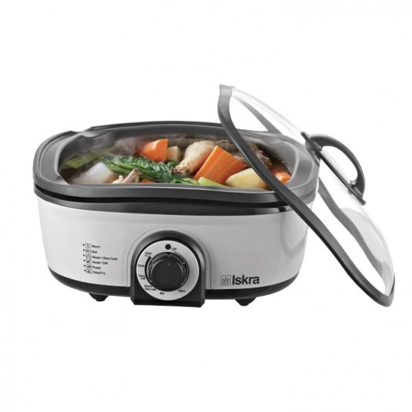 ISKRA aparat za kuvanje 8 u 1 HP-MT01