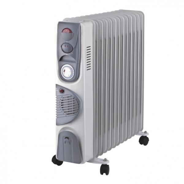 PROSTO uljni radijator 13 rebara sa ventilatorom UR-B22FT-13A