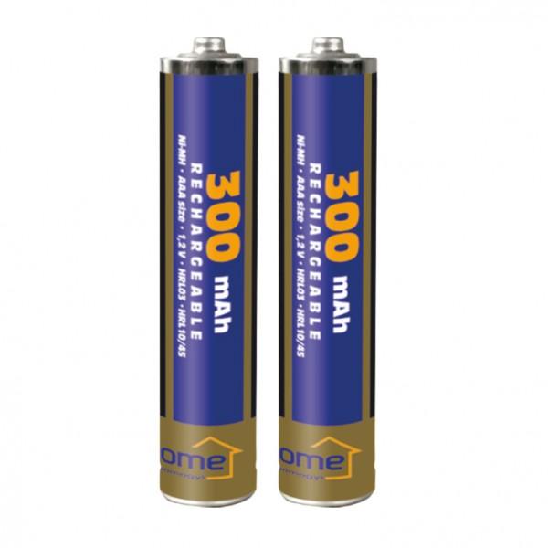 HOME punjive baterije AAA 300 mAh M300AAA/2