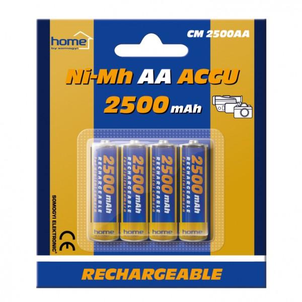 HOME punjive baterije AA 2500 mAh CM2500AA