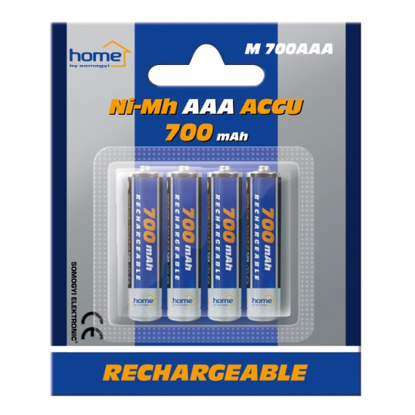 HOME punjive baterije AAA 700 mAh M700AAA