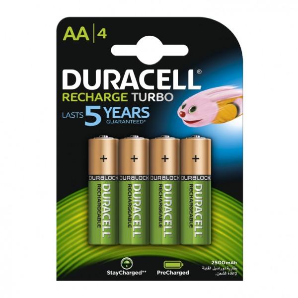 Duracell punjive baterije AA 2500 mAh DUR-NH-AA2500/BP4