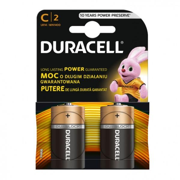 Duracell alkalne baterije C DUR-LR14/BP2
