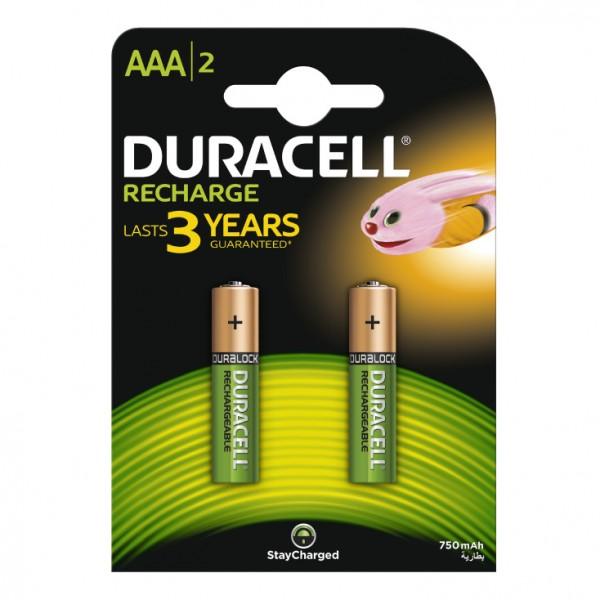 Duracell punjive baterije AAA 750 mAh DUR-NH-AA750/BP2