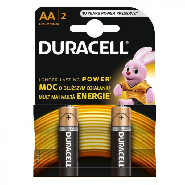 Duracell alkalne baterije AA DUR-LR6/BP2