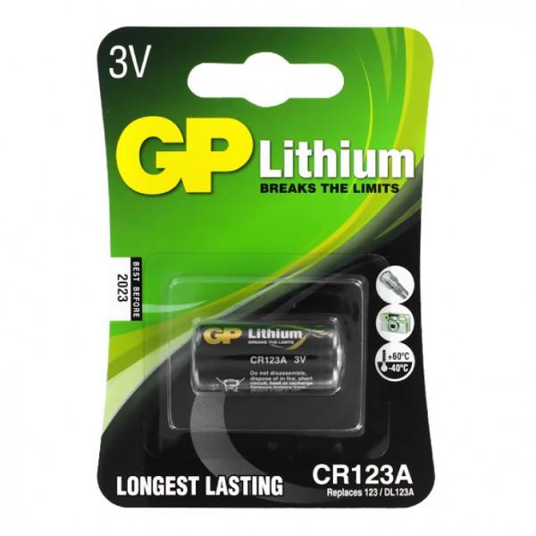 GP litijumska baterija CR123A GP-CR123A-U1