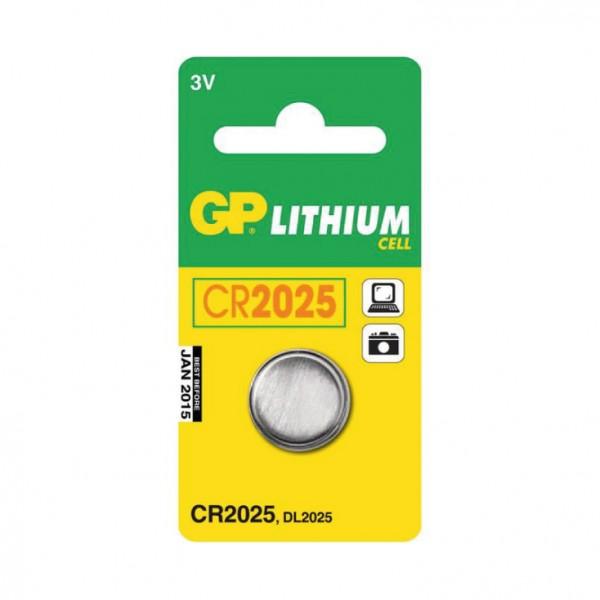 GP dugmasta baterija CR2025 GP-CR2025