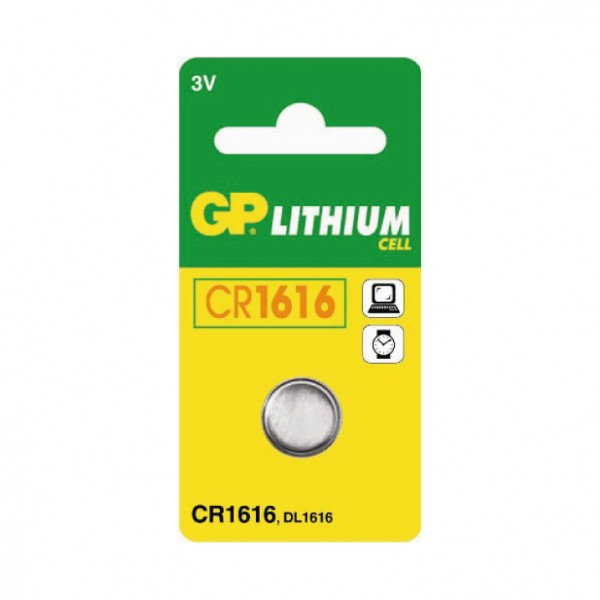 GP dugmasta baterija CR1616 ( 36674 )
