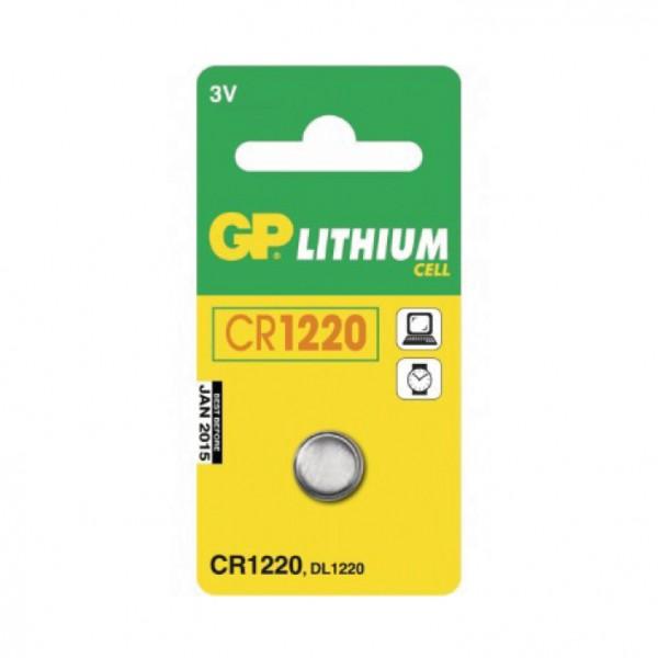 GP dugmaste baterija CR1220 ( 36673 )