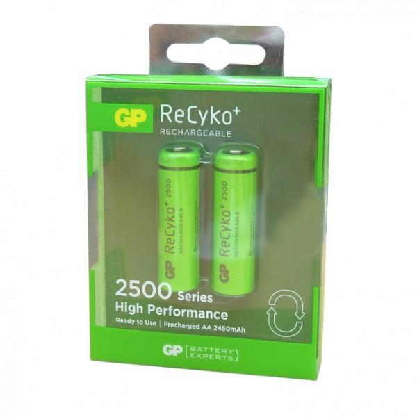 GP punjive baterije AA 2500 mAh 250AAHC-U2-RECYKO