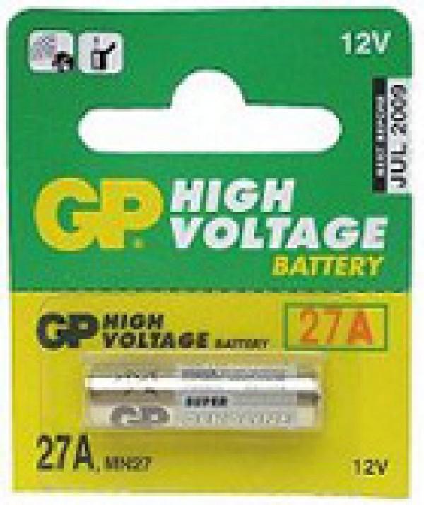 GP visokonaponska alkalna baterija GP-27A