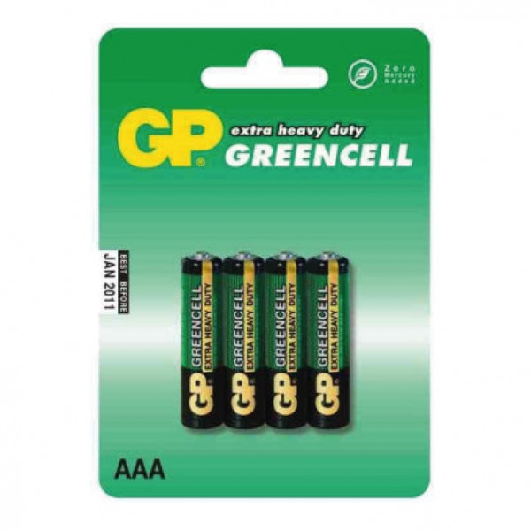 GP cink-oksid baterije AAA  GP-R03/4BP
