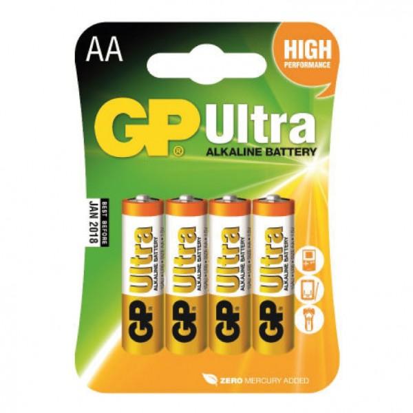 GP alkalna baterija AA 4 kom. GP-LR06/4BP