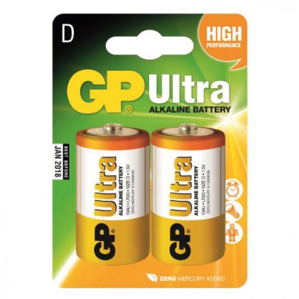GP alkalne baterije D GP-LR20/2BP