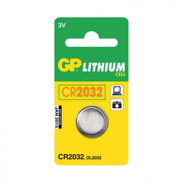 GP dugmasta baterija CR2032 GP-CR2032