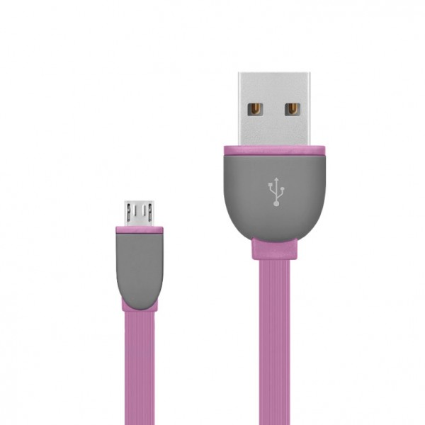 USB 2.0 kabel, USB A- USB micro B,1m USBK-F/P