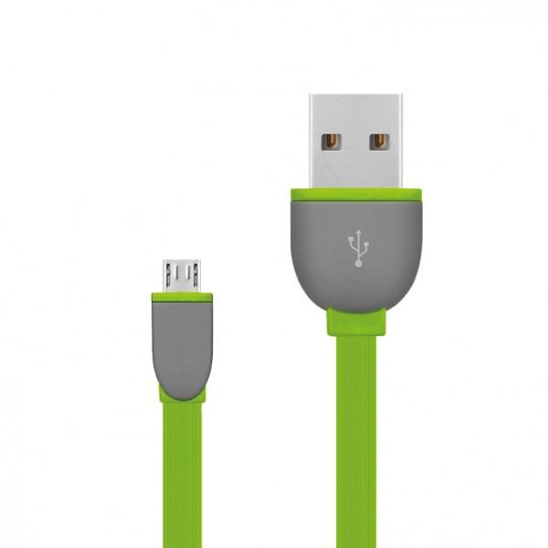USB 2.0 kabel, USB A- USB micro B,1m USBK-F/GR