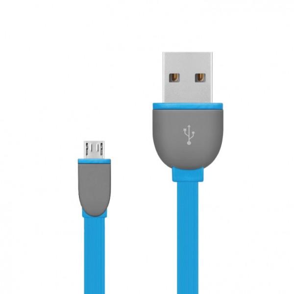 USB 2.0 kabel, USB A- USB micro B,1m USBK-F/BL