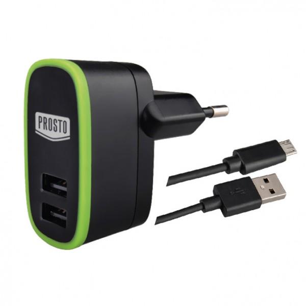 Univerzalni USB punjač sa kabelom 2.1A ( 55390 )