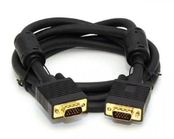 FAST ASIA Kabl VGA MM 1.8m HQ feritno jezgro crni