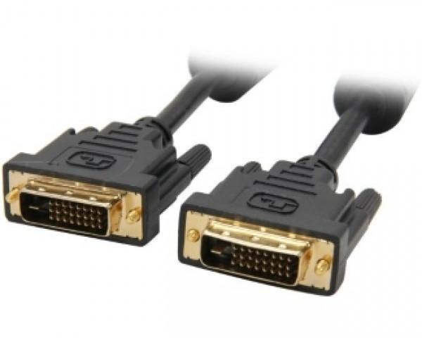 FAST ASIA Kabl DVI-D to DVI-D MM 1.8m crni