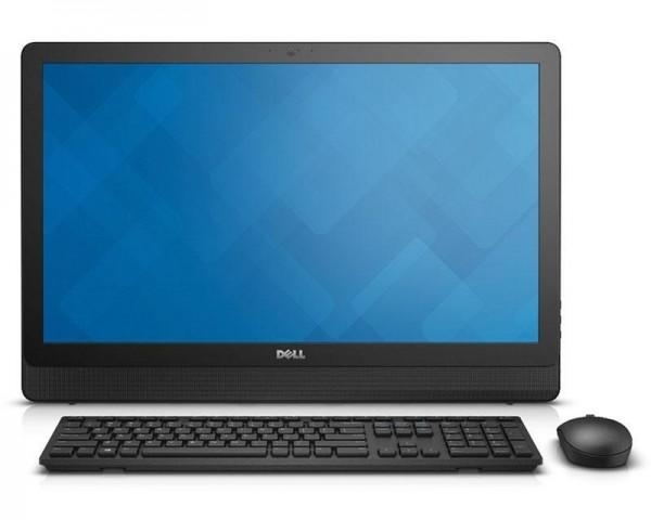DELL OEM Inspiron 24 (3464) 23.8'' FHD Core i3-7100U 2-Core 2.4GHz 4GB 1TB ODD Windows 10 Home 64bit crni + tastatura + miš