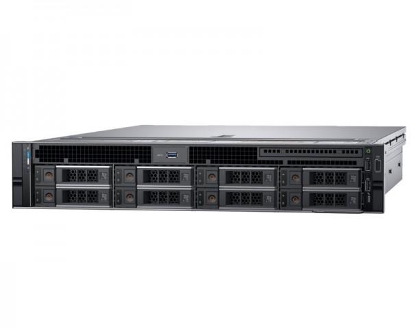 DELL PowerEdge R740 Xeon Silver 4110 8C 1x16GB H730P 2x300GB SAS 750W (1+1) 3yr NBD + Sine za Rack