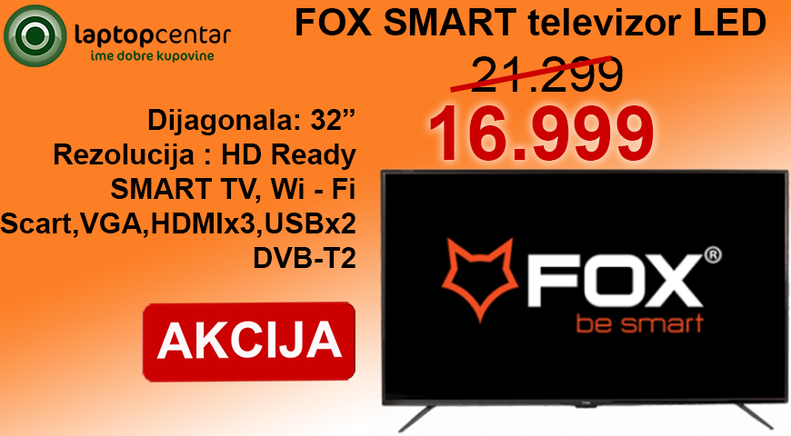 FOX TV smart 32