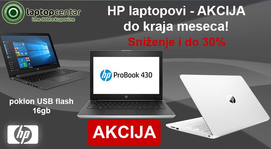 hp akcija laptopovi