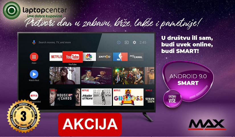 max tv smart