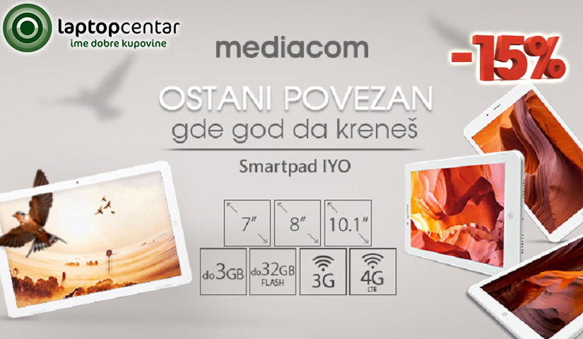 Mediacom tab.