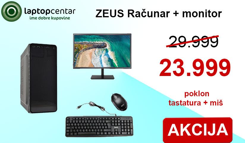 Zeus racunar + monitor