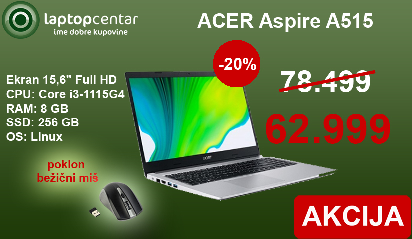 Acer aspire 62.999