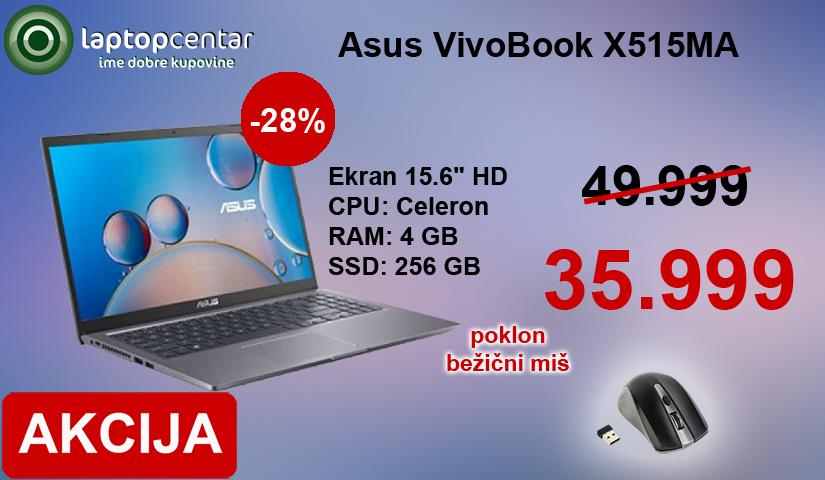 Asus vivobook 35.999